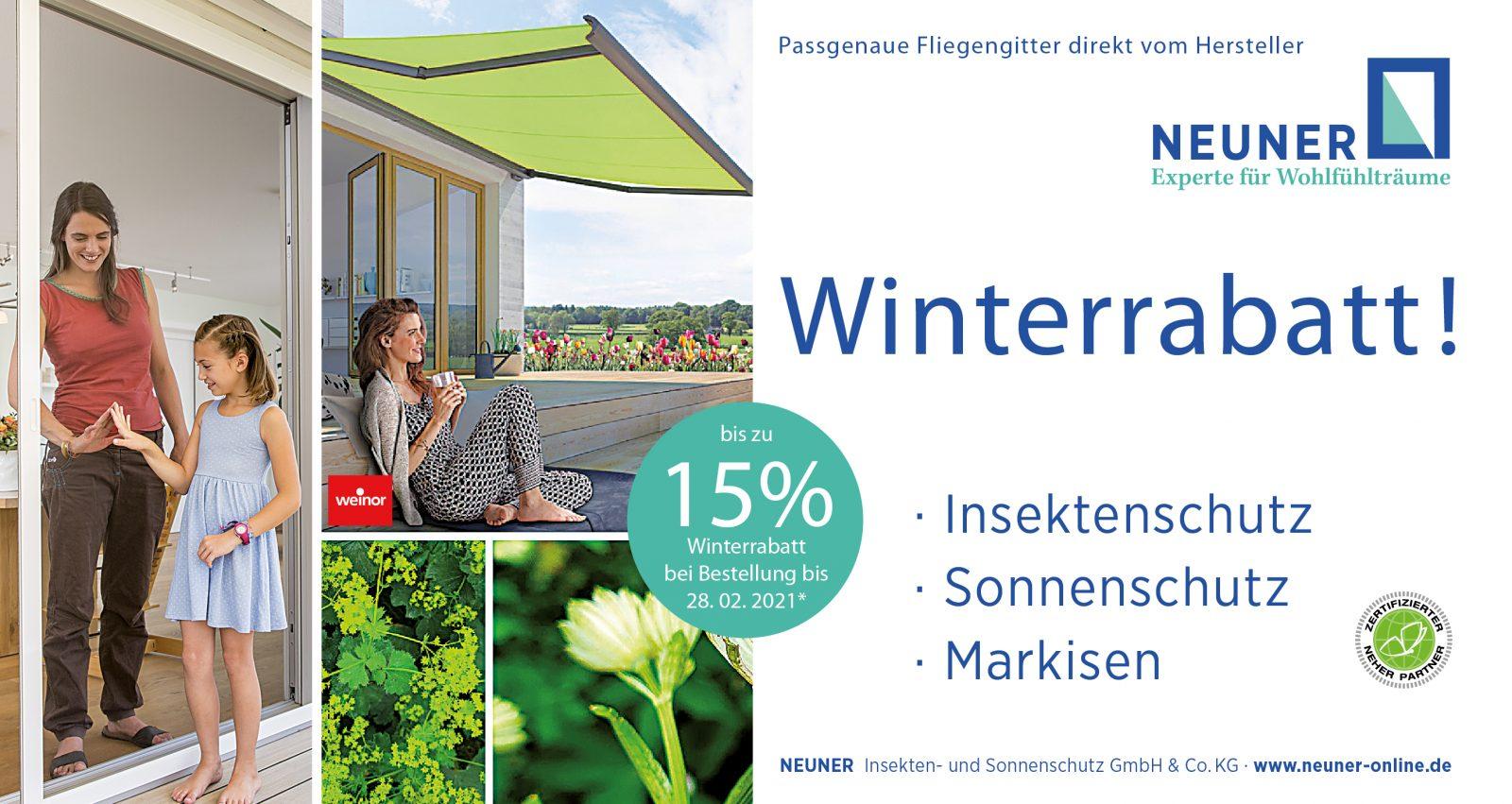 Winterrabatt